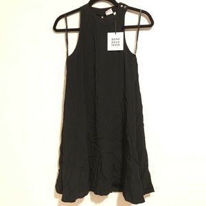 Somedays Lovin Black Sleeveless Trapeeze Dress